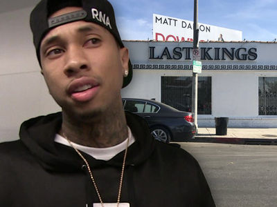 Tyga Lost More Than $50k When Burglars Hit His Store