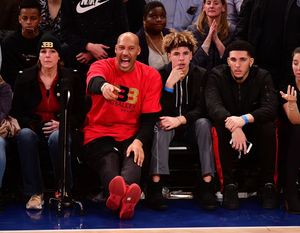 Stars at the Knick Games