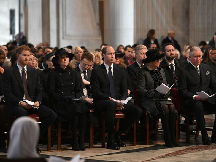 Royal Family, Adele Attend Memorial for Grenfell Fire Victims