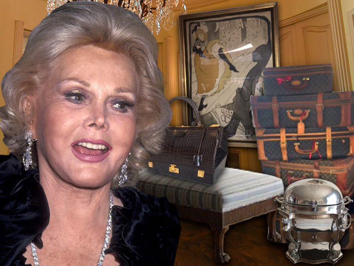 Zsa Zsa Gabor's Estate Auction Features Louis Vuitton Luggage, Paintings and Grand Piano