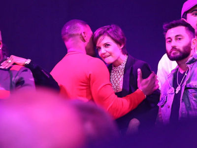Katie Holmes Did Party with Jamie Foxx at His 50th Birthday Bash