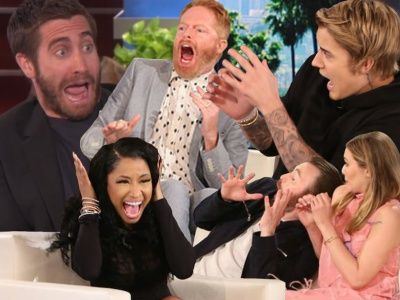 Ellen Scares the Hell Out of ANOTHER Celebrity -- See Who Got Pranked THIS Time