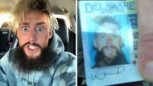 WWE's Enzo Amore Refuses to Remove Penis from His Driver's License