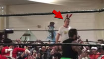 Macaulay Culkin Smashes Swoggle In Pro Wrestling Match