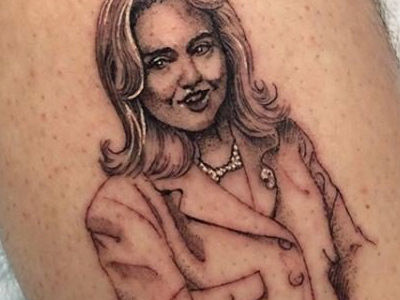 Which Star Just Got a HUGE Hillary Clinton Tattoo? See Her EPIC Response!