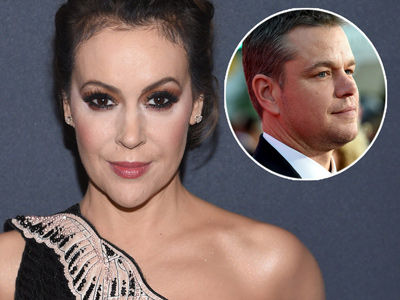 Alyssa Milano BLASTS Matt Damon Over Sexual Misconduct Comments