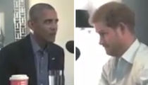 Prince Harry Interviews Barack Obama for the BBC