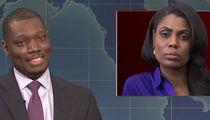 Omarosa's White House Firing Spoofed on SNL