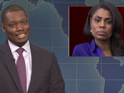 Omarosa's White House Firing Spoofed on SNL