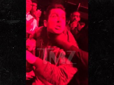 Travis Scott, Security Puts Fan in Vicious Chokehold (UPDATE)