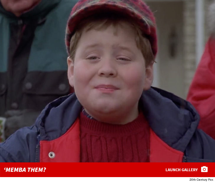 Little Johnny in 'Jingle All The Way' 'Memba Him?! 1