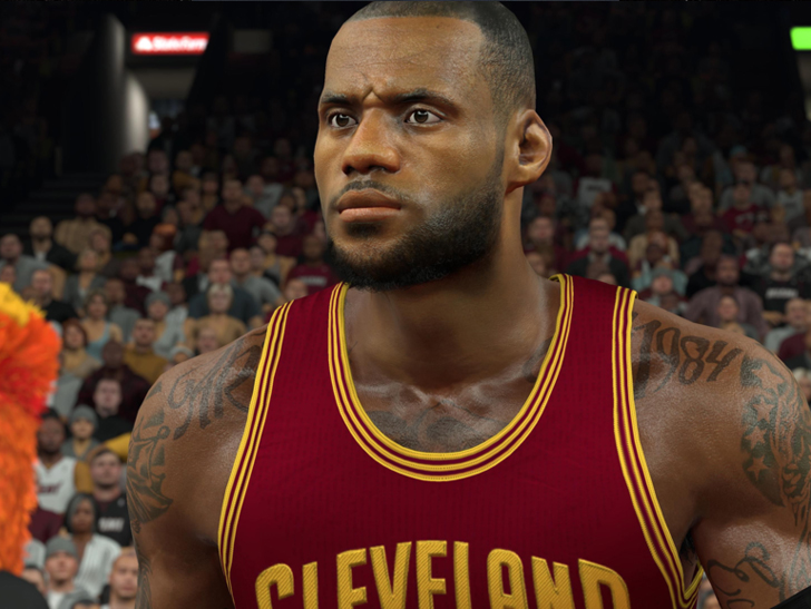 Lebron james 39 tattoo artist sues nba2k17 they 39 ve for Kyrie irving tattoos shoulder