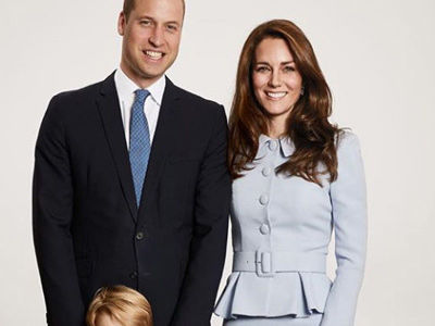 Prince George and Princess Charlotte Are Cutest Royals EVER In Family Christmas Card