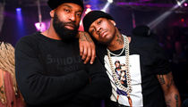 Allen Iverson & Baron Davis Crush L.A. Strip Club After Kobe Event