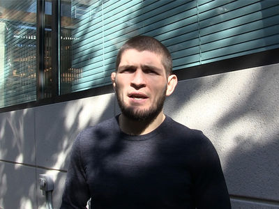 Khabib Nurmagomedov Says He'll Cut His Leg Off to Make Weight at UFC 219