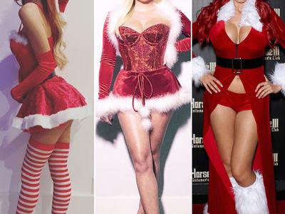 Sexy Santas -- Guess Who!