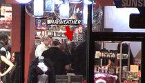 Floyd Mayweather Makes Freaky XXX Trip to Hustler Store!