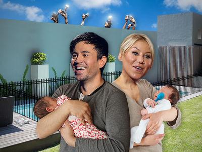 Enrique Iglesias, Anna Kournikova Drop $600k to Upgrade Home for Twins