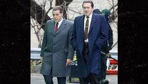 Robert De Niro Wears High Platform Shoes to Look Taller Next to Al Pacino