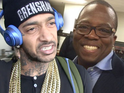 News Reporter Calls Out Nipsey Hussle, Let's Fight For Real!