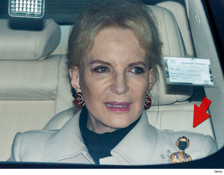 Princess Michael of Kent says sorry for wearing 'racist' Blackamoor brooch