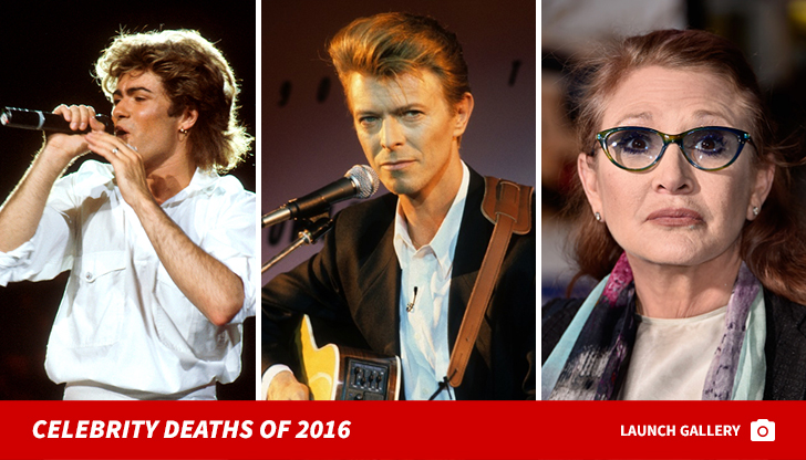 Were the Celebrity Deaths of 2017 More Shocking Than Last Year's? 2