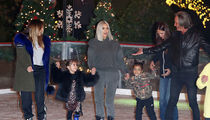 Kim Kardashian and Family Hit Up Ice Rink for Christmas Party