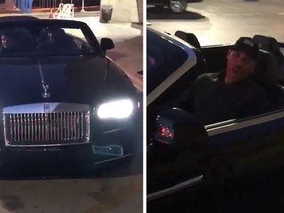 Lonzo Ball Buys LaVar $350K Rolls Royce For Xmas