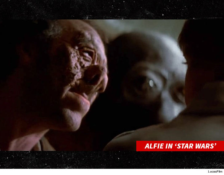 Star Wars actor Alfie Curtis dies aged 87