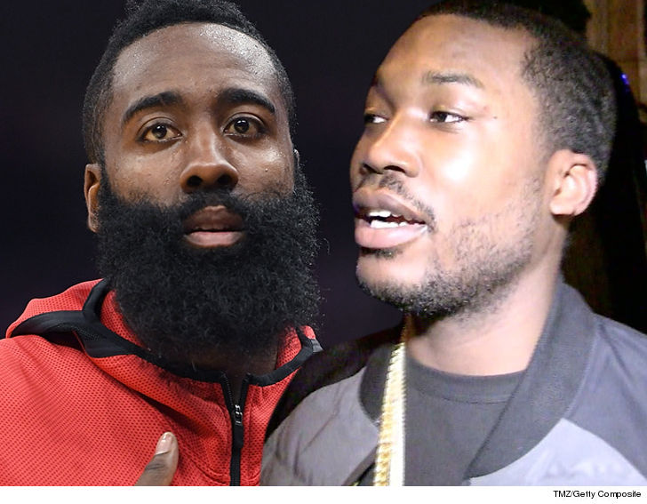 James Harden Visits Meek Mill in Prison, 'His Spirit is High'