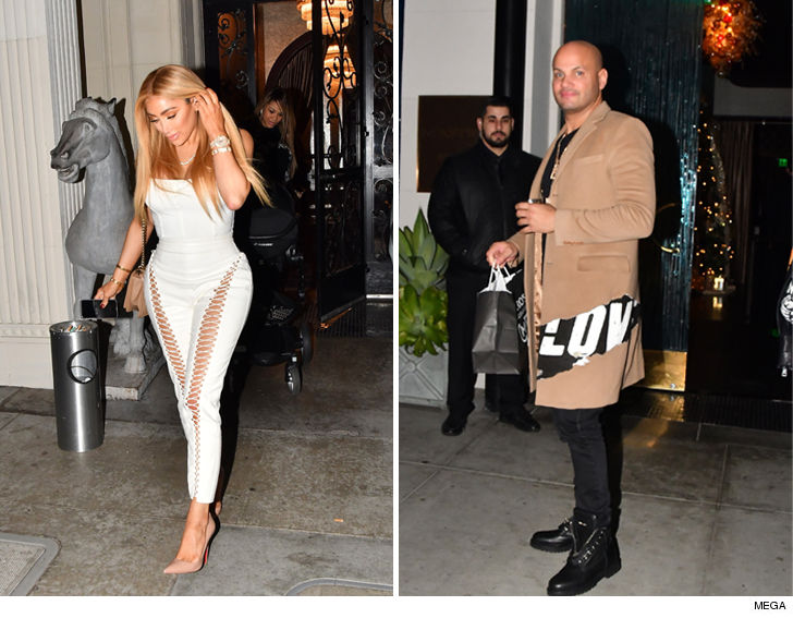 Stephen Belafonte Isn't Dating Nikki Baby, Christmas Dinner Was Business 1