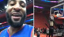 NBA's Langston Galloway: Slam Dunk Gender Reveal ft. Andre Drummond