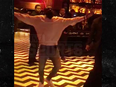 James Harden Dances With Himself To Chris Brown