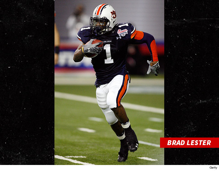 Ex-Auburn RB Brad Lester Booked for Child Porn, Allegedly Filmed Boy in Bathroom 2