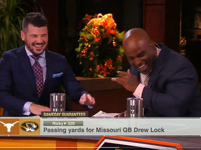 Ricky Williams Accidentally Calls Himself 'The High Guy' On Live TV