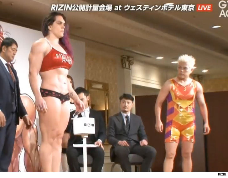 Gabi Garcia stupidly overweight for fight with 53-year-old opponent