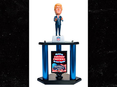 Donald Trump, New Fantasy Football Trophy NFL Fans