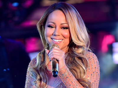 Mariah Carey Gets The Chair For Dick Clark's New Year's Rockin' Eve