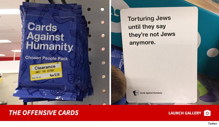 Target Apologizes, Pulls Anti-Semetic Cards Against Humanity Game 2
