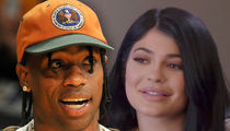 Travis Scott Performs on New Year's Eve for Kylie's Friends, Without Kylie