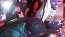 Diddy Helps Drunk Girl at His New Year's Eve Party