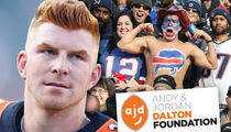 Andy Dalton's Charity: Bills Fans Donating BIG Money After Playoff Heroics (UPDATE)