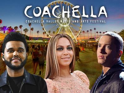 Beyonce, The Weeknd and Eminem To Headline Coachella