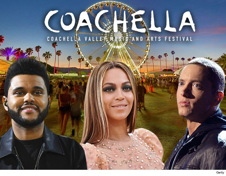 Beyonce Will Be Joined By The Weeknd And Eminem As Headliners For The Upcoming Coachella Music Festival
