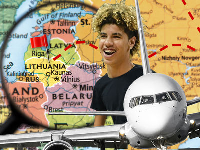 LaMelo Ball Leaving For Lithuania ... Today!