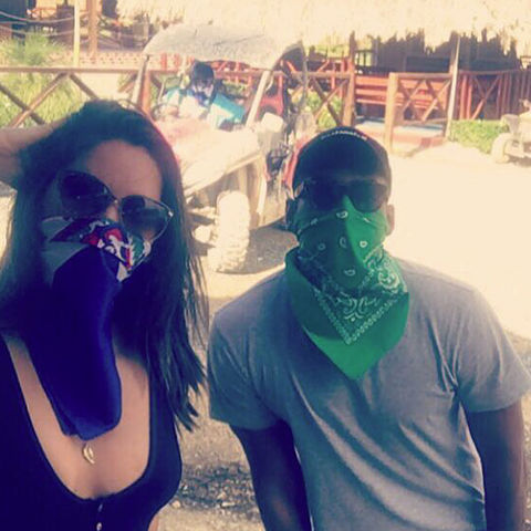 Olivia Munn and Jason Bolden
