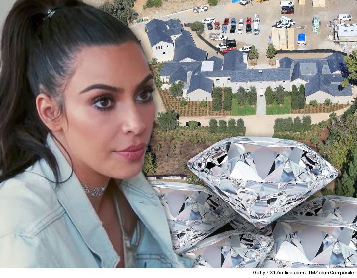 Kim Kardashian Wont Keep Any Jewelry in New Home