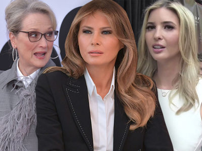 Meryl Streep Calls Out Melania & Ivanka Trump for Their Silence During #MeToo Movement