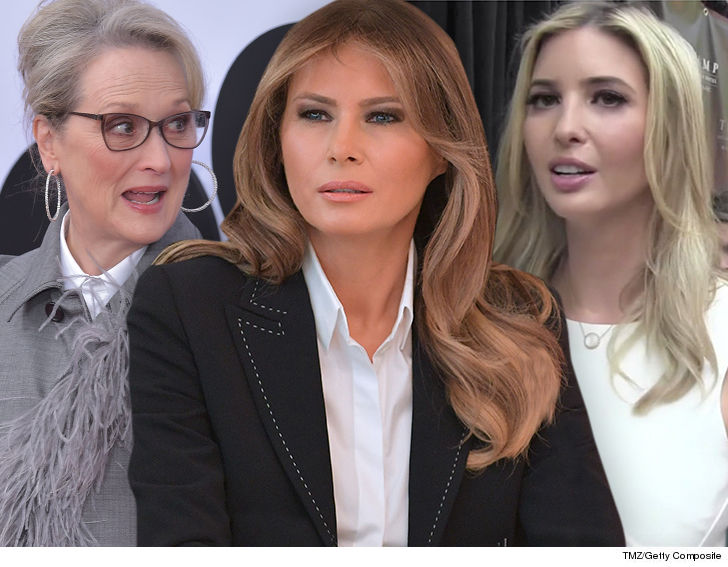 Meryl Streep Who Cares About My Silence? What About Melania & Ivanka?!