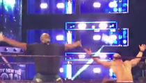 Karl Malone Bottle-Smashin' with Bobby Roode on WWE Smackdown